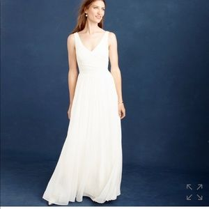 J Crew Heidi wedding dress NWT